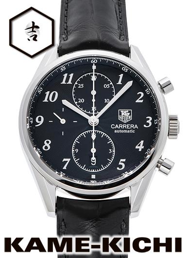 タグ・ホイヤー カレラ ヘリテージ クロノグラフ Ref.CAS2110.FC6266 新品 ブラック (TAG HEUER Carrera Helitage Chronograph)