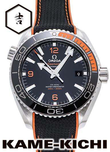 オメガ シーマスター プラネットオーシャン コーアクシャル マスタークロノメーター Ref.215.32.44.21.01.001 新品 ブラック (OMEGA Seamaster Planet-ocean Co-Axial Master Chronometer)