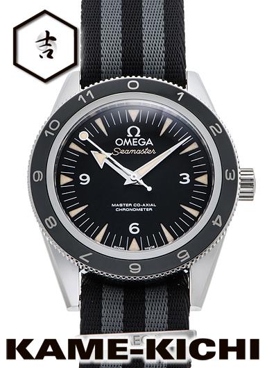 【中古】オメガ シーマスター300 マスターコーアクシャル スペクター リミテッド Ref.233.32.41.21.01.001 ブラック (OMEGA Seamaster300 Master Co-Axial SPECTRE Limited Edition)