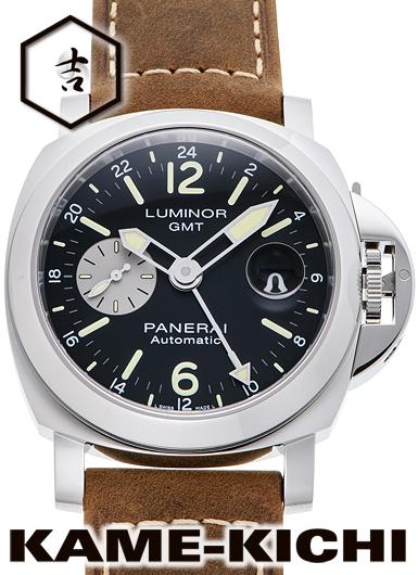 パネライ ルミノールGMT アッチャイオ Ref.PAM01088 新品 ブラック/シルバー (PANERAI Luminor GMT Acciaio)