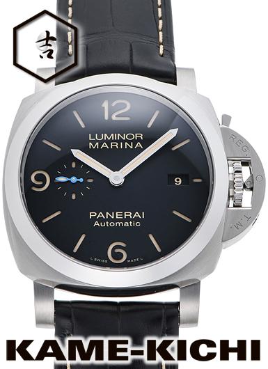 パネライ ルミノールマリーナ1950 3デイズ アッチャイオ Ref.PAM01312 新品 ブラック (PANERAI Luminor Marina1950 3Days Acciaio)
