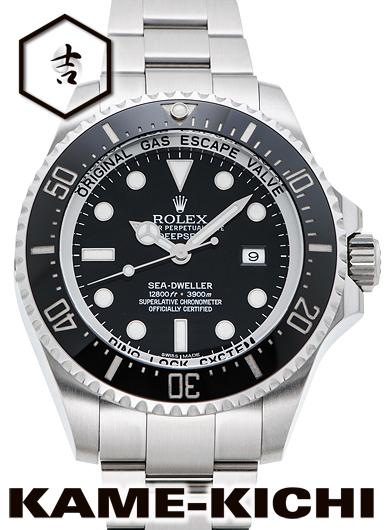 【中古】ロレックス 3年保証 シードゥエラー ディープシー Ref.116660 ブラック (ROLEX Sea-Dweller Deep Sea)