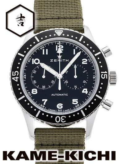 ゼニス クロノメトロ TIPO CP-2 Ref.03.2240.4069/21.C803 新品 ブラック (ZENITH Cronometro Tipo CP-2)