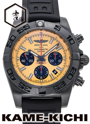 ブライトリング クロノマット44 ブラックスチール Ref.M011I31XRB 新品 イエロー/ブラック (BREITLING Chronomat44 Black Steel)