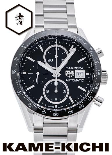タグ・ホイヤー カレラ クロノグラフ キャリバー16 Ref.CV201AJ.BA0715 新品 ブラック (TAG HEUER Carrera Chronograph Caribre16)