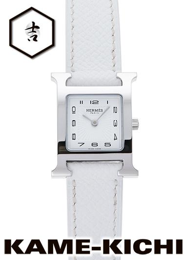 エルメス Hウォッチ Watch) Ref.HH1.210.131/UBC ホワイト 新品 ホワイト H (HERMES H Watch), 木馬家具:21639571 --- sunward.msk.ru