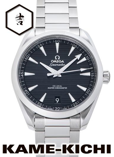 オメガ シーマスター アクアテラ 150m コーアクシャル マスタークロノメーター Ref.220.10.41.21.01.001 新品 ブラック (OMEGA Seamaster Aqua Terra 150m Co-Axial Master Chronometer)