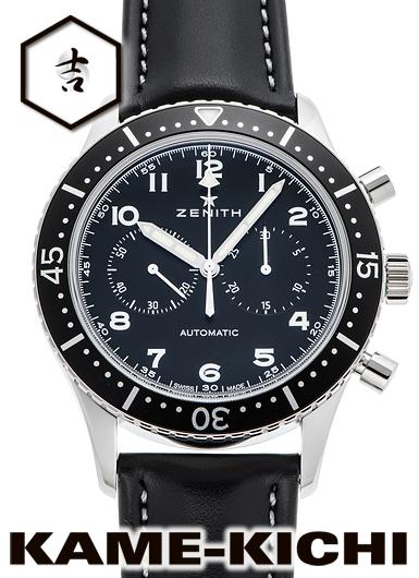 ゼニス クロノメトロ TIPO CP-2 Ref.03.2240.4069/21.C774 新品 ブラック (ZENITH Chronometro Tipo CP-2)