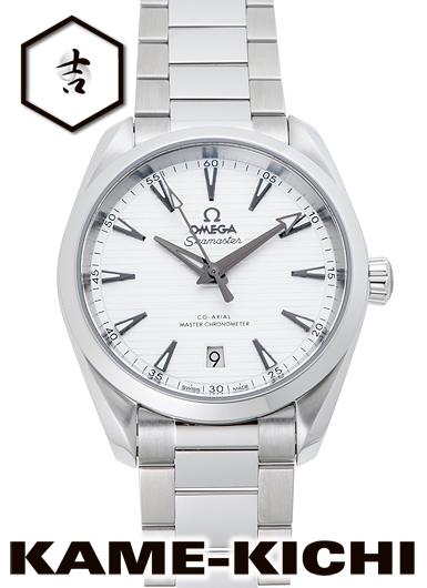 オメガ シーマスター アクアテラ 150m コーアクシャル マスタークロノメーター Ref.220.10.38.20.02.001 新品 シルバー (OMEGA Seamaster Aqua Terra 150m Co-Axial Master Chronometer)