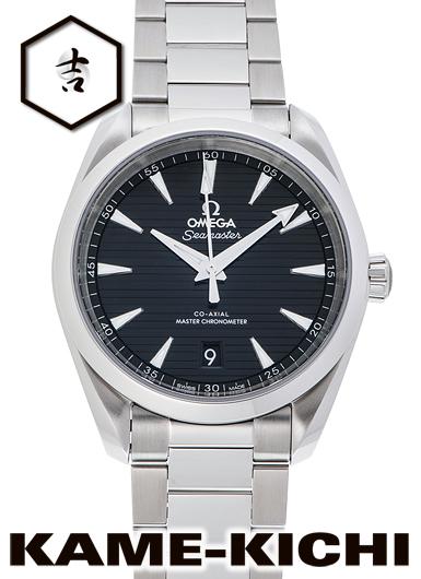 オメガ シーマスター アクアテラ 150m コーアクシャル マスタークロノメーター Ref.220.10.38.20.01.001 新品 ブラック (OMEGA Seamaster Aqua Terra 150m Co-Axial Master Chronometer)