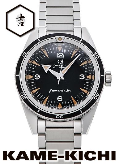 オメガ オメガ1957 トリロジー シーマスター300 コーアクシャル マスタークロノメーター Ref.234.10.39.20.01.001 新品 ブラック (OMEGA Omega1957 Trilogy Seamaster300 Co-Axial Master Chronometer)