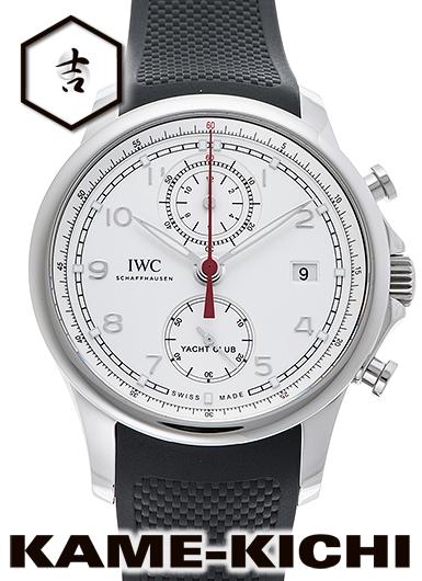 【中古】IWC ポルトギーゼ ヨットクラブ クロノグラフ Ref.IW390502 シルバー (IWC Portuguese Yacht Club Chronograph)