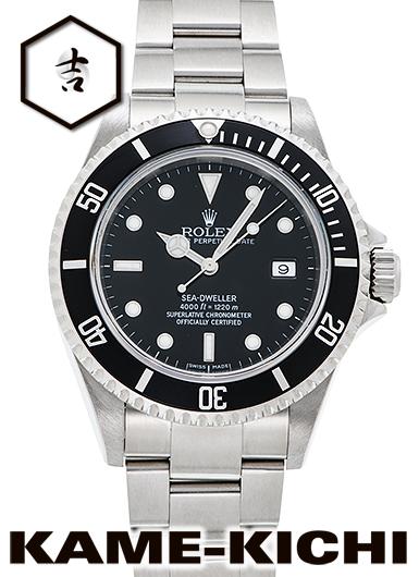 【中古】ロレックス 3年保証 シードゥエラー Ref.16600 ブラック (ROLEX Sea Dweller)