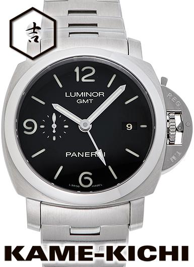 【最大3万円OFFクーポン!1/1~】【中古】パネライ ルミノールGMT Ref.PAM00329 ブラック (PANERAI Luminor GMT)