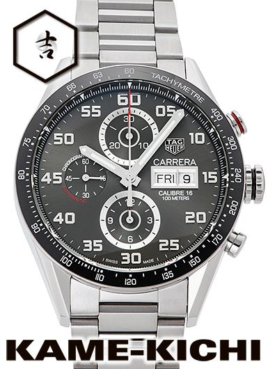 【中古】タグ・ホイヤー カレラ クロノグラフ キャリバー16 Ref.CV2A1U.BA0738 グレー(アンスラサイト) (TAG HEUER Carrera Chronograph Caribre16)