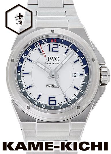【中古】IWC インヂュニア Dualtime) デュアルタイム Ref.IW324404 (IWC Ref.IW324404 シルバー (IWC Ingenieur Dualtime), ココヒコ(手作り化粧水、石鹸):df4b3102 --- sunward.msk.ru