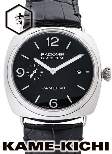 【中古】パネライ ラジオミール ブラックシール 3デイズ Ref.PAM00388 ブラック (PANERAI RadIomIr Brack Seal 3Days)