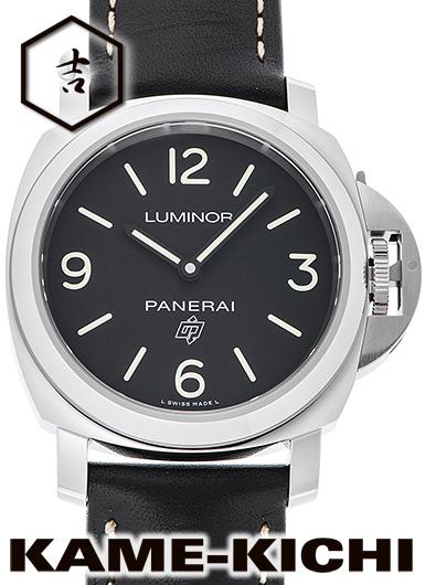 パネライ ルミノール ベース ロゴ アッチャイオ Ref.PAM00773 新品 ブラック (PANERAI LumInor Base Logo AccIaIo)