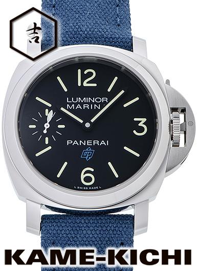 パネライ ルミノール マリーナ ロゴ 3デイズ アッチャイオ Ref.PAM00777 新品 ブラック (PANERAI Luminor Marina Logo 3Days Acciaio)