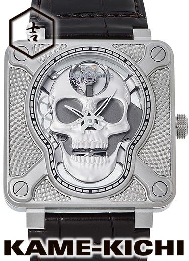 ベル 新品&ロス BR01-92 Skull) ラフィング スカル ラフィング Ref.BR01-SKULL-SK-ST 新品 シルバー (Bell&Ross BR01 Laughing Skull), ラロックショップ:7da406da --- sunward.msk.ru