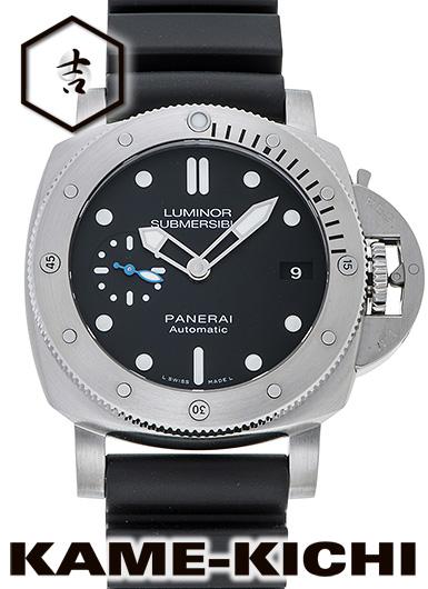 パネライ ルミノール1950 サブマーシブル 3デイズ アッチャイオ Ref.PAM00682 新品 ブラック (PANERAI LumInor SubmersIble1950 3Days AccIaIo)