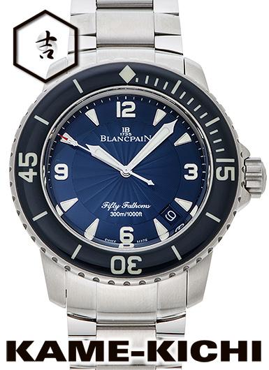 【中古】ブランパン フィフティ ファゾムス Ref.5015D-1140-71B ブルー (BLANCPAIN Fifty Fathoms)
