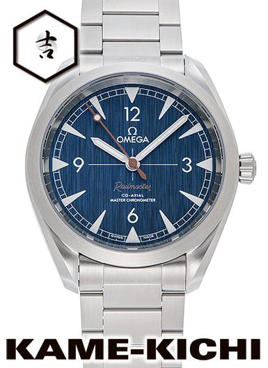 オメガ シーマスター レイルマスター コーアクシャル マスタークロノメーター Ref.220.10.40.20.03.001 新品 ブルー (OMEGA Seamaster Railmaster Co-Axial Master Chronometer)