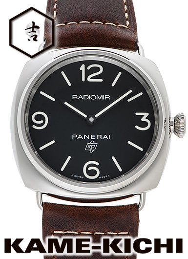 パネライ ラジオミール 3デイズ アッチャイオ Ref.PAM00753 新品 ブラック (PANERAI Radiomir Logo 3Days Acciaio)【】