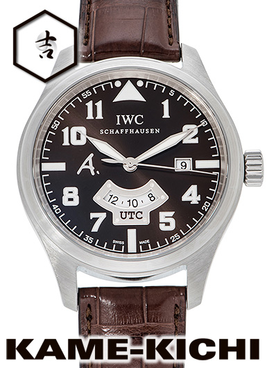 【中古】IWC パイロットウォッチ サンテグジュペリ Ref.IW326104 ブラウン (IWC Pilot's Watch UTC Saint Exupery Edition)