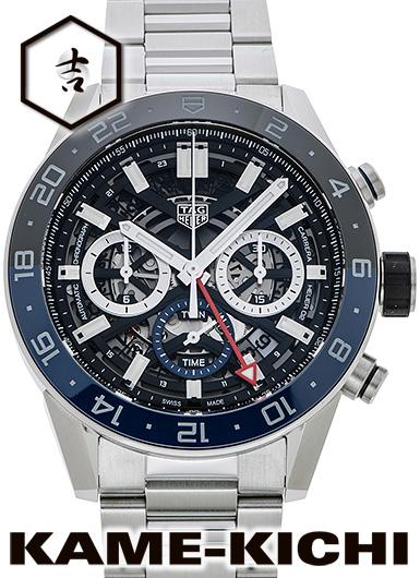 タグ・ホイヤー カレラ キャリバー ホイヤー02 クロノグラフ GMT Ref.CBG2A1Z.BA0658 新品 (TAG HEUER Carrera Calibre HEUER02 Chronograph GMT)