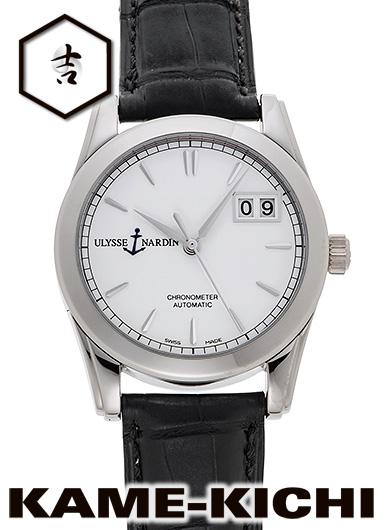 ユリス・ナルダン クロノメーター BDu Ref.230-33 新品 ホワイト (ULYSSE NARDIN Chronometer BDu Limited Edition)