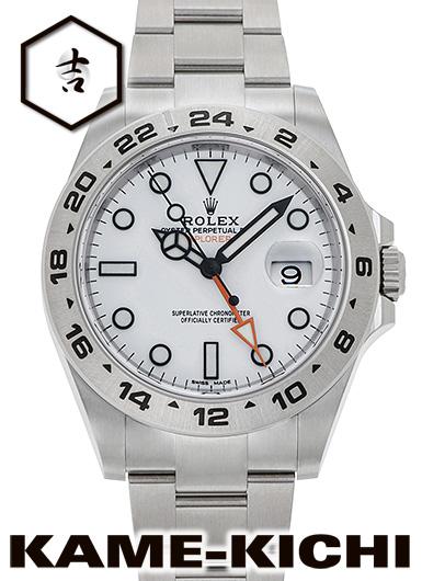 【最大3万円OFFクーポン!1/1~】ロレックス エクスプローラーII Ref.216570 新品 ホワイト (ROLEX Explorer II)