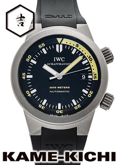 【中古】IWC アクアタイマー オートマティック 2000 Ref.IW353804 ブラック (IWC Aquatimer Automatic 2000)
