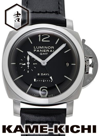 【中古】パネライ ルミノール1950 8デイズ GMT Ref.PAM00233 ブラック (PANERAI Luminor1950 8Days GMT)