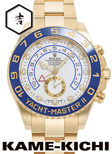 【最大3万円OFFクーポン!1/1~】ロレックス ヨットマスターII Ref.116688 新品 ホワイト (ROLEX Yacht MasterII)