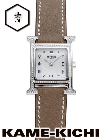 エルメス Hウォッチ Ref.HH1.235.216/SW18 新品 ホワイト (HERMES H Watch)【】