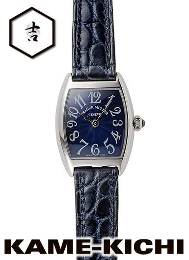 フランク・ミュラー トノウカーベックス インターミディエ Ref.2251QZ 新品 ブルー (FRANCK MULLER Tonneau Curvex Intermediate)