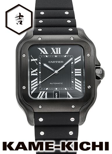 カルティエ サントス ドゥ カルティエ ウォッチ LM Ref.WSSA0039 新品 ブラック (CARTIER Santos De Cartier LM)