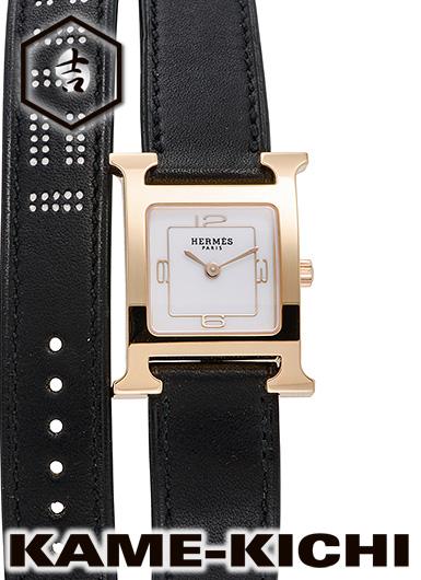 エルメス Hウォッチ Ref.W049200WW00 新品 ホワイト (HERMES H Watch)