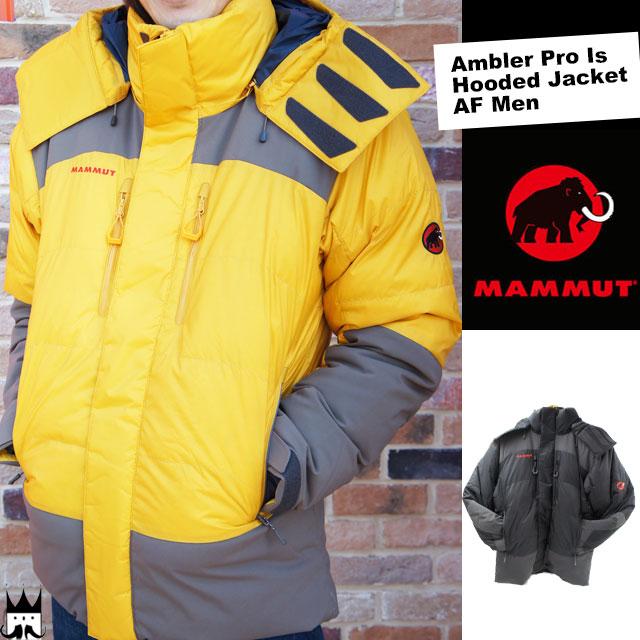 MAMMUT マムート メンズ 1010-18480 Ambler Pro Is Hooded Jacket AF Men アンブラー プロ イズ フーデッド ジャケット ダウンジャケット Pertex DRYtech 保温 1189 0040 evid