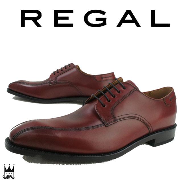 【送料無料】REGAL リーガル 03AR 革靴 紳士靴 メンズ ビジネスシューズ ワイン ドレスシューズ フォーマル ビークトゥ 日本製 メイドインジャパン evid