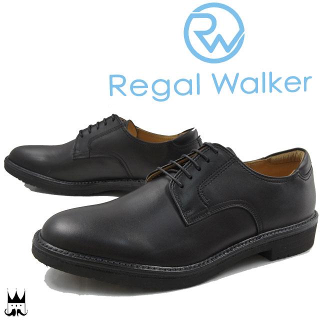 【送料無料】リーガルウォーカー REGAL WALKER メンズ ビジネスシューズ 101W 革靴 紳士靴 3E 大きいサイズ リクルート ブラック evid