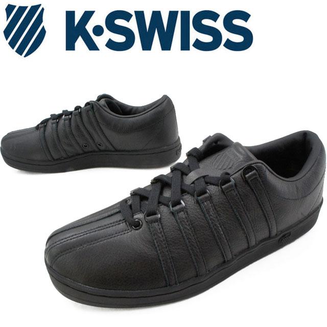 【送料無料】ケースイス K-SWISS メンズ スニーカー クラシック88 オールブラック ローカット カジュアルシューズ evid |4