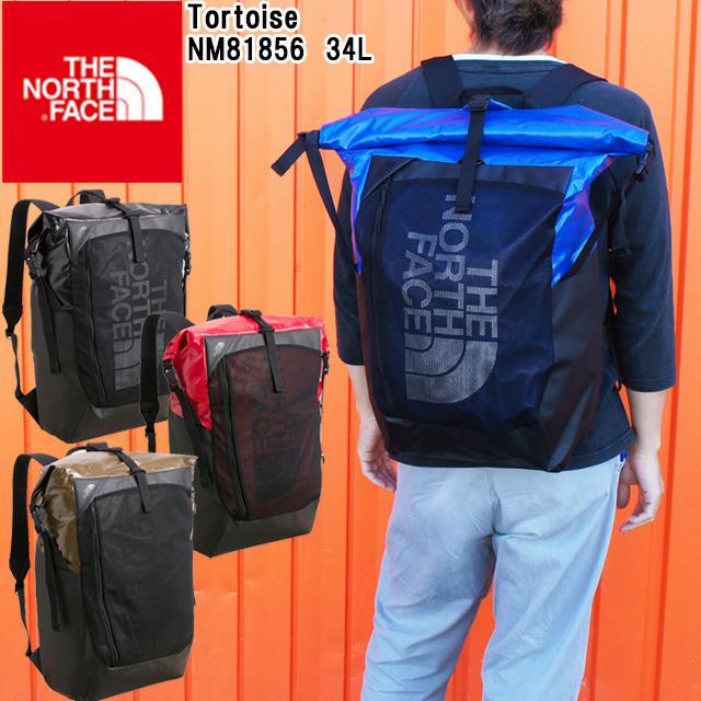 【送料無料】(一部地域除く)ザ・ノースフェイス バッグ メンズ レディース NM81856 トータス 34L デイパック バックパック リュック リュックサック ブラック レッド ブルー カーキ 黒 赤 青 THE NORTH FACE evid