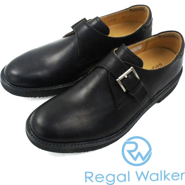 【送料無料】(一部地域除く) リーガル ウォーカー 103W AH 革靴 紳士靴 B(ブラック)REGAL WALKER メンズ フォーマル ビジネス BLACK ウォーキングシューズ evid