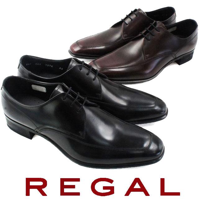 【24h限定10%offクーポン】【送料無料】REGAL リーガル メンズ 革靴 紳士靴 727R AL Uチップ ビジネスシューズ evid