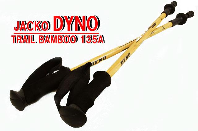 【送料無料】ダイノ トレイルバンブー 135A 2本1ペア サイズ:約60?135cm DYNO TRAIL BAMBOO アウトドア ハイキング トレッキングポール スティック ab-c