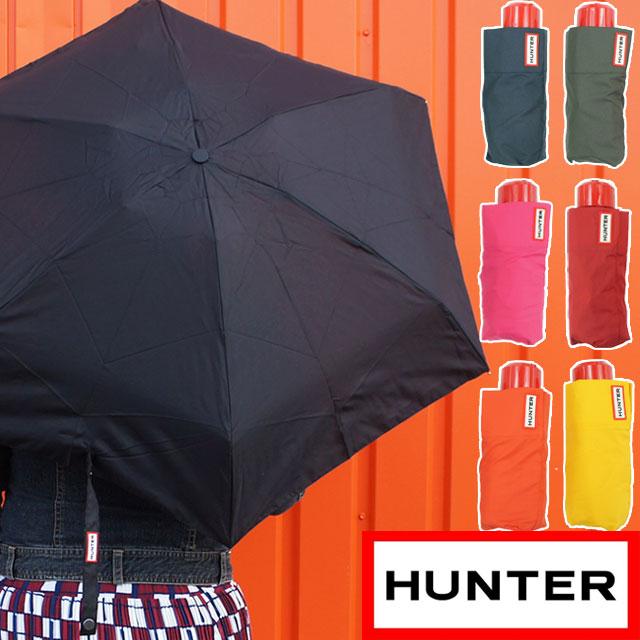 ハンター 折りたたみ傘 レディース WAU6009UPN オリジナル ミニ コンパクト 傘 かさ カサ バブル 雨 梅雨 レイン アンブレラ HUNTER evid