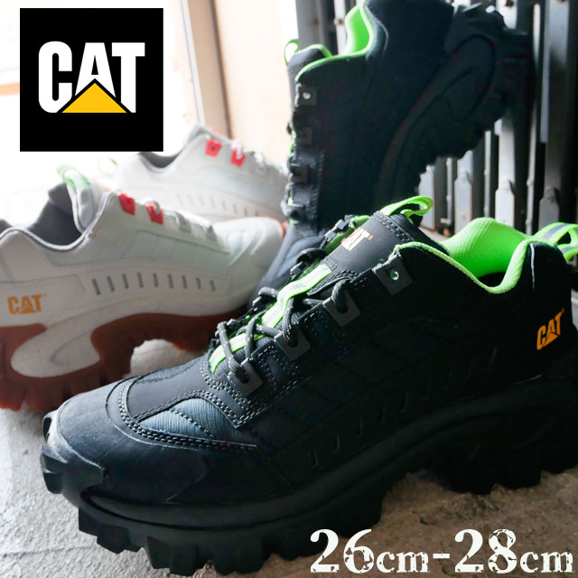 【送料無料】キャタピラー CAT スニーカー メンズ P723311 P723312 イントルーダー ダッドシューズ ダッドスニーカー ローカット カジュアル ブラック ホワイト evid
