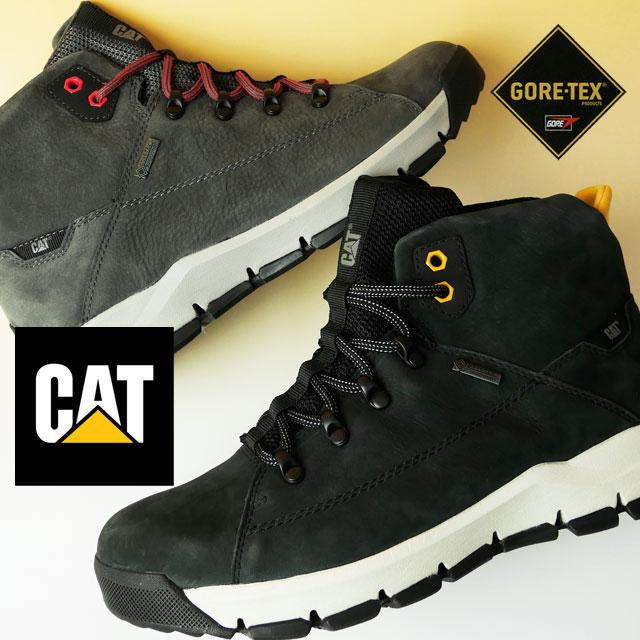 【送料無料】キャタピラー CAT カジュアルシューズ メンズ P723176 P723179 デフォルト ゴアテックス ミッドカット アウトドア 防水 透湿 evid